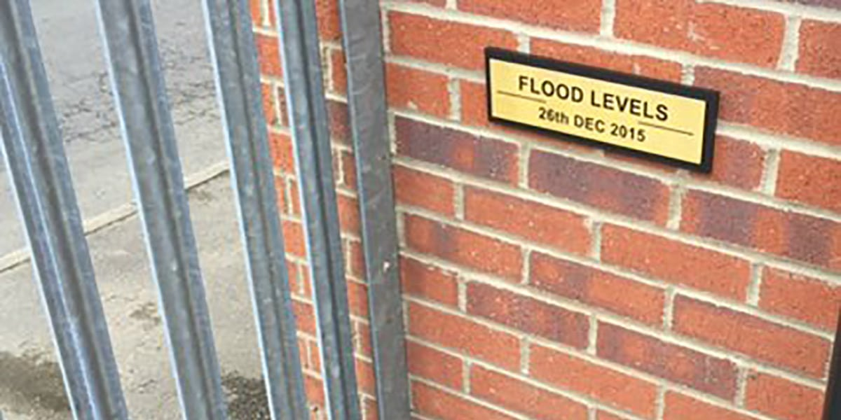 FLOOD LEVELS 2016