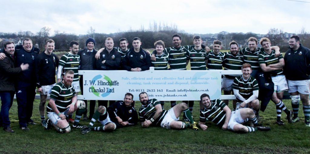 JWH Tanks continues to support Old Grovians RUFC