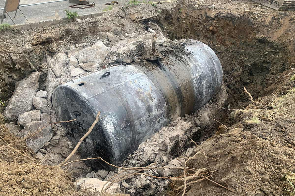 Underground Fuel Tank Removal